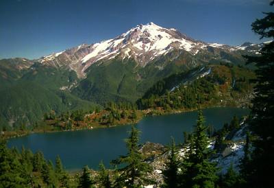 Glacier Peak and Byrne Lake