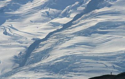 Park Glacier, Mount Baker from Ptarmigan Ridge