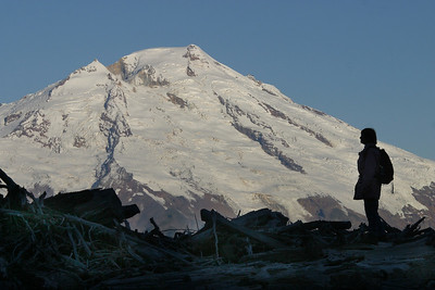 Mount Baker from Anderson Butte