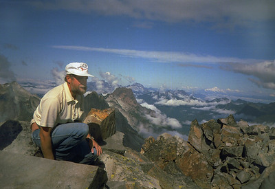 Summit of Del Campo Peak
