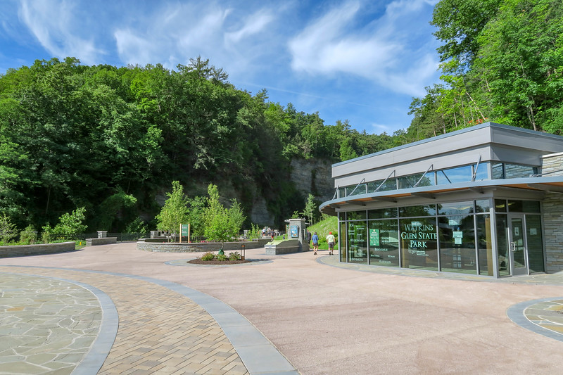 Watkins Glen State Park Visitor Center