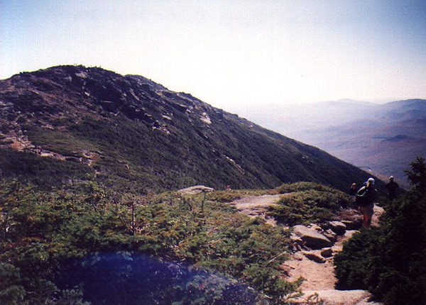Franconia Ridge Trail -- 4,500'