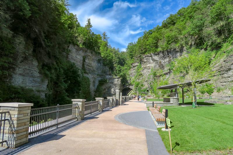 Entrance Tunnel Trail