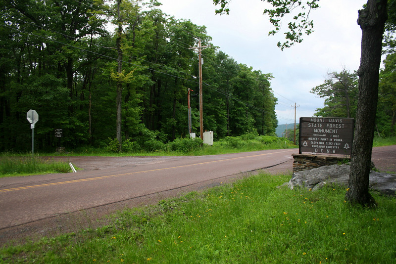 Mount Davis Summit Road