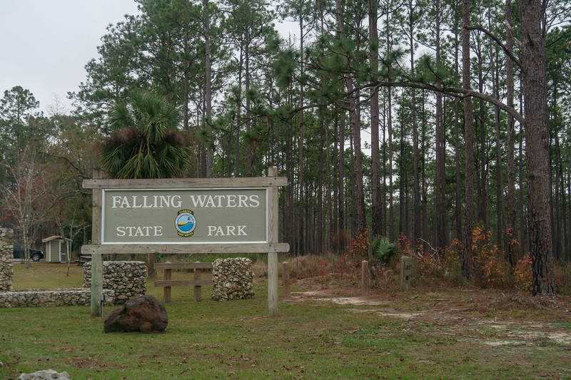Falling Waters State Park Entrance