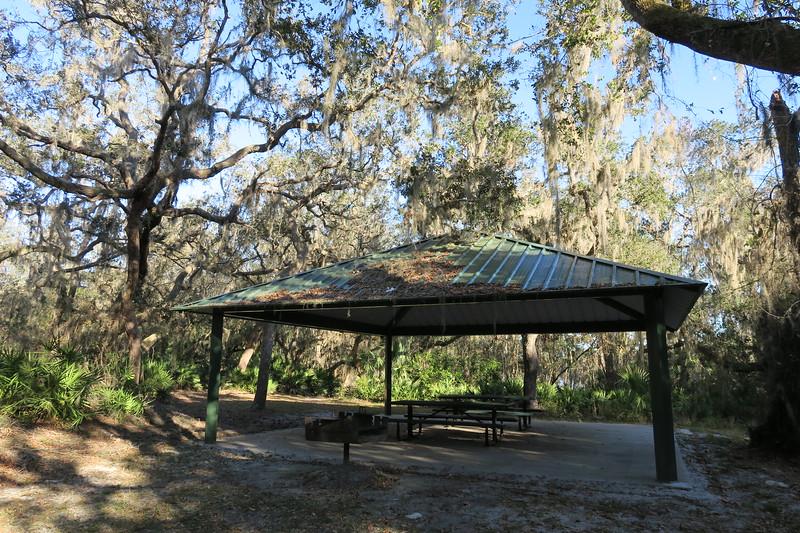Hickory Bluff Preserve Picnic Pavilion