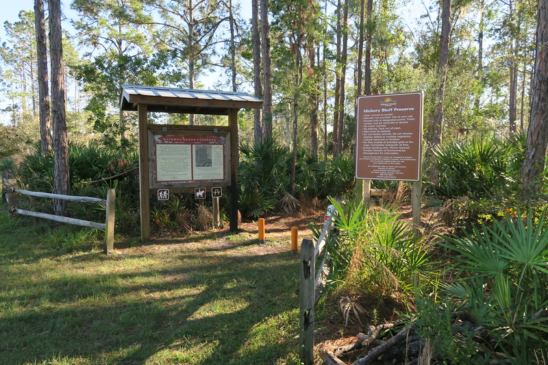 Hickory Bluff Preserve Trailhead (Blue Trail)