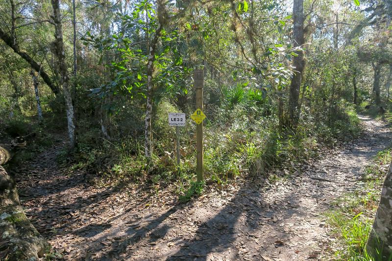 Florida/Kolokee Trail Junction