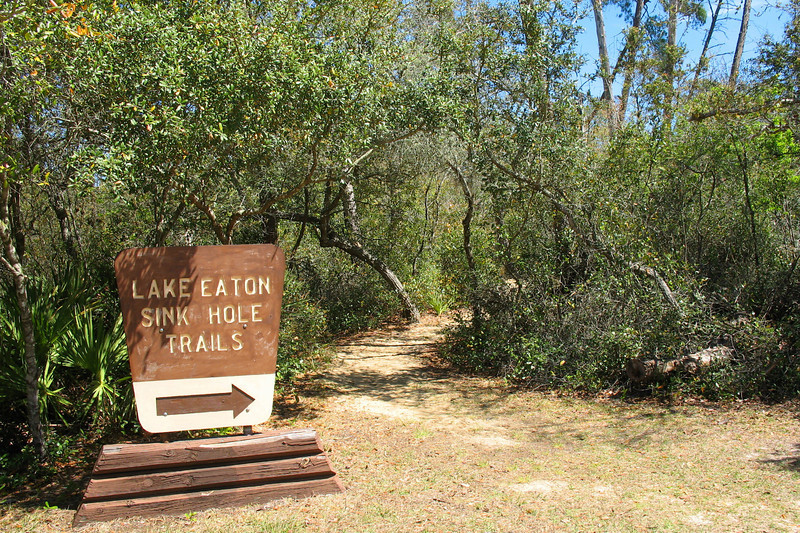 Lake Eaton Sinkholes Trailhead