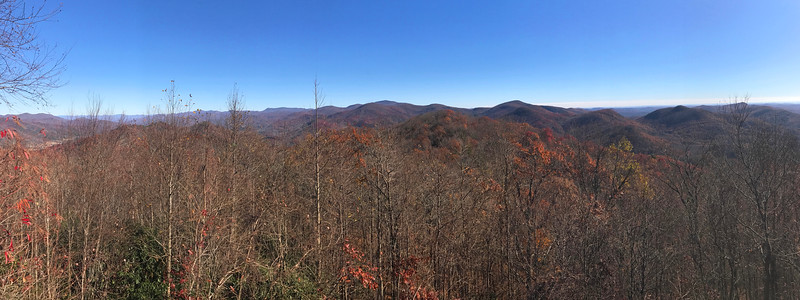 Blue Ridge Overlook -- 3,388'