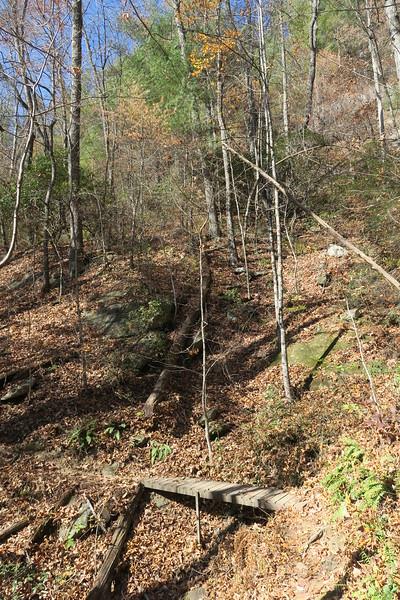 James Edmonds Trail -- 2,450'