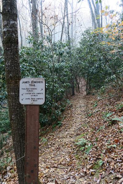 James Edmonds Trail -- 2,420'