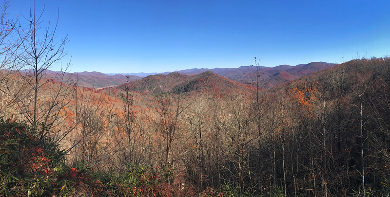 Cowee Overlook -- 3,195'