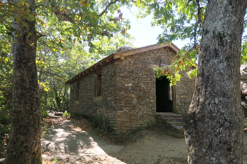 Blood Mountain Shelter -- 4,461'