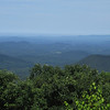 The view from Springer Mountain, looking east...