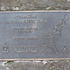 The other southern terminus plaque atop Springer...