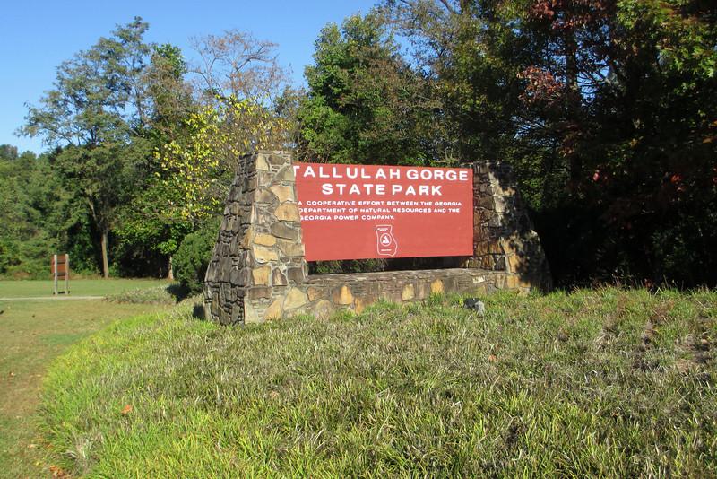 Tallulah Gorge State Park Entrance
