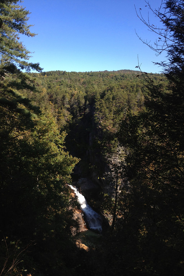 South Rim Trail - Overlook #7 - Tempesta Falls