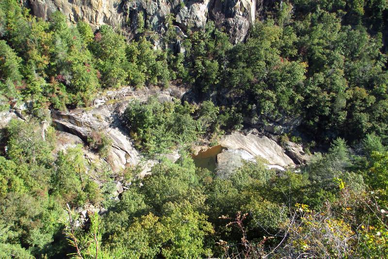 South Rim Trail - Overlook #9 - Oceana Falls