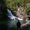 Enjoying my last few minutes in Tallulah Gorge...