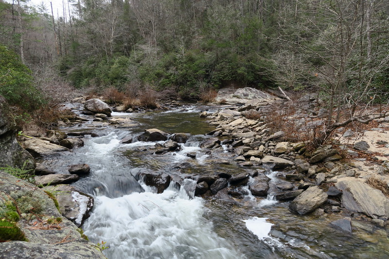 West Fork of Chattooga River -- 1,840'