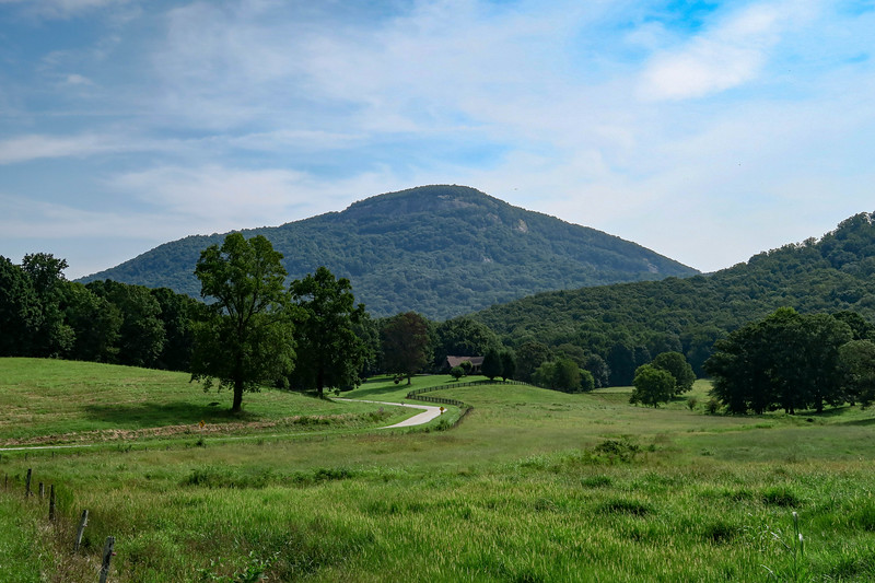 Yonah Mountain from Chambers Road