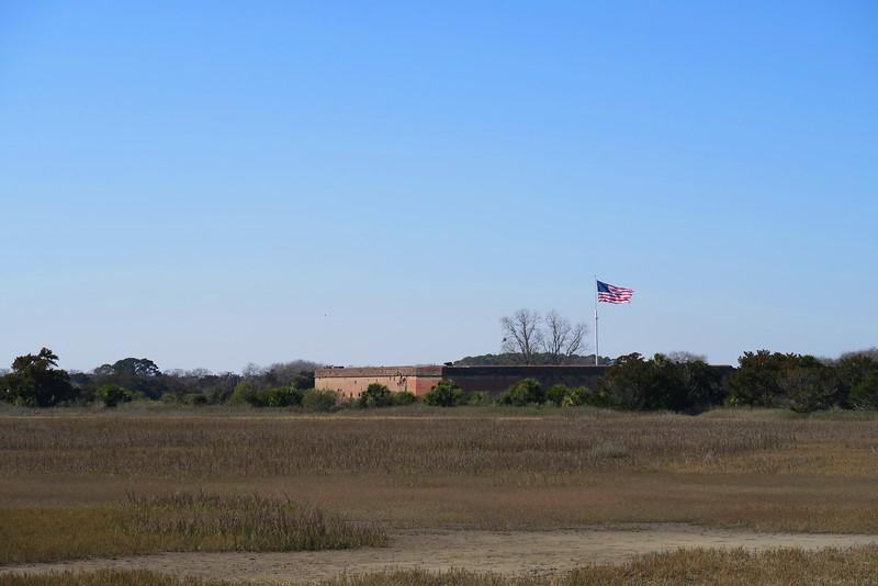Lighthouse Overlook Trail - Fort Pulaski