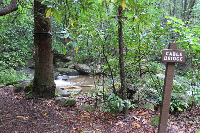 Asbury Trail - Matthews Creek Crossing