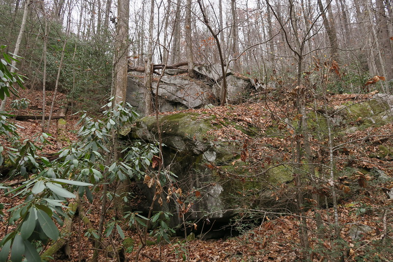 Jones Gap Trail -- 2,200'