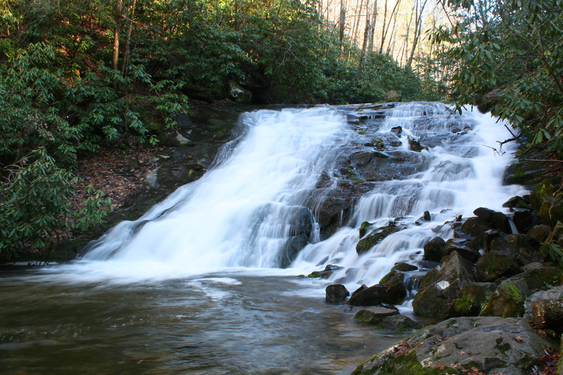 Indian Creek Falls...