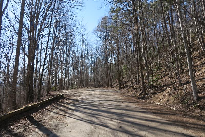 Lake View Drive (aka. Road to Nowhere)