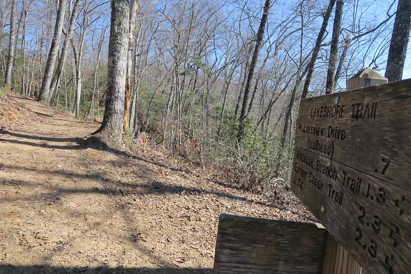 Goldmine Loop-Lakeshore Trail Junction