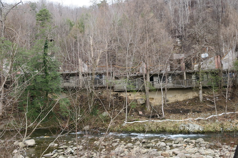 Gatlinburg -- 2016 Chimney Tops Wildfire Aftermath