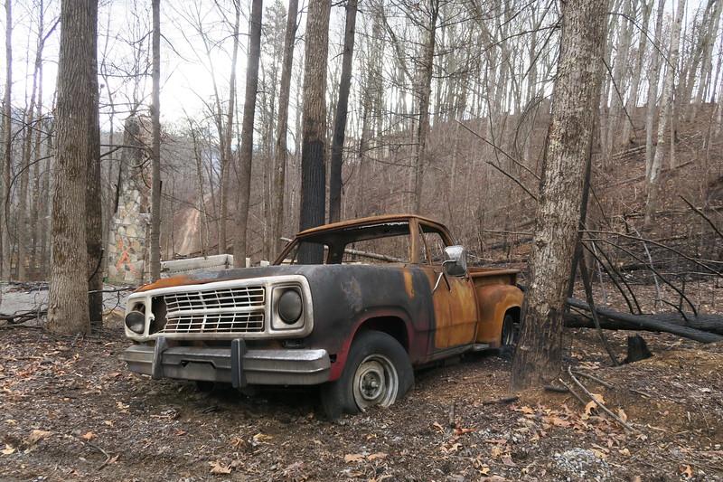 Gatlinburg -- 2016 Chimney Tops Wildfire Aftermath