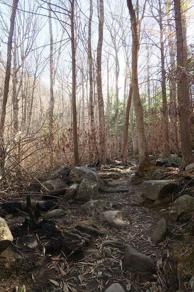 Rainbow Falls Trail -- 3,040'
