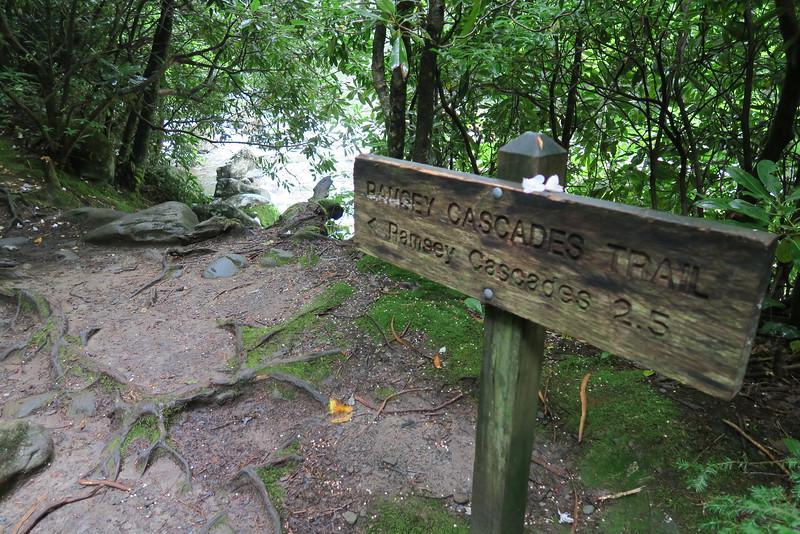 Ramsey Cascades Trail - 2,640'