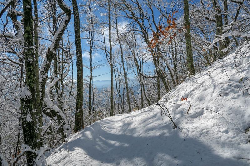 Appalachian Trail -- 3,640'