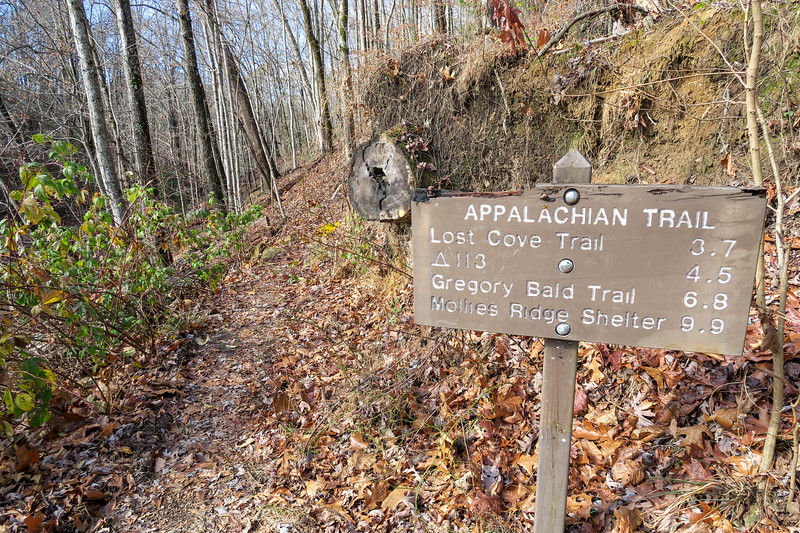 Appalachian Trail -- 1,900'