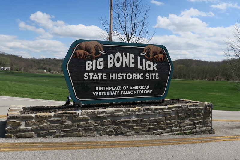 Big Bone Lick State Park Entrance
