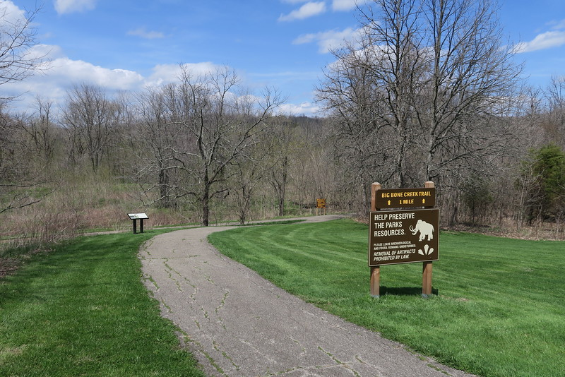 Big Bone Creek Trailhead