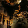 Descending onto the Drapery Room, formations of every shape and size covered the cave from floor to ceiling...
