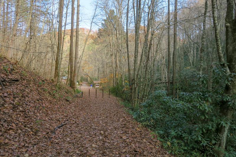 Rocky Fork Trail -- 2,400'