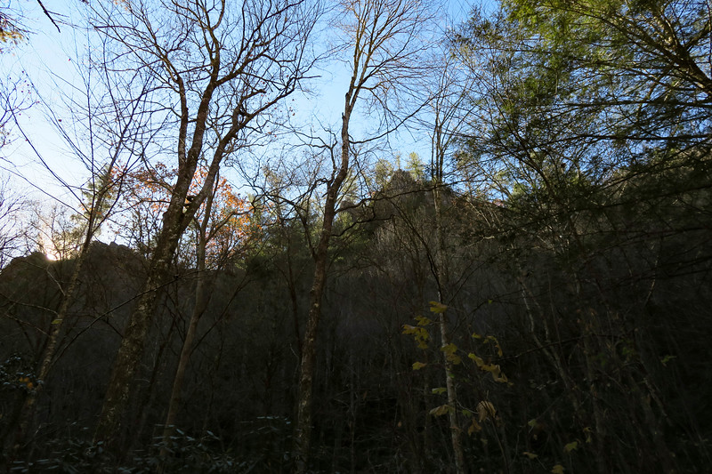 Rocky Fork Trail -- 2,500'