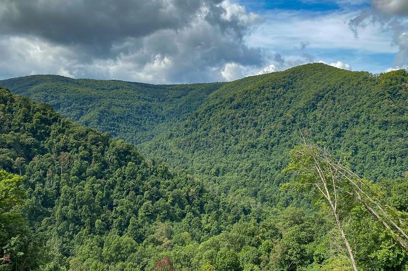 Black Mountain (4,139') fr. HWY 160 - 2,900'