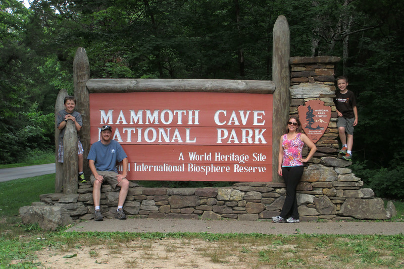 Family photo op at one of our favorite National Parks...