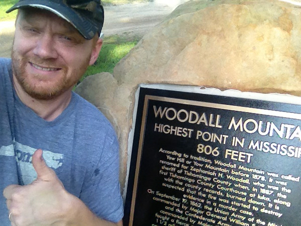 Woodall Mountain -- 806'