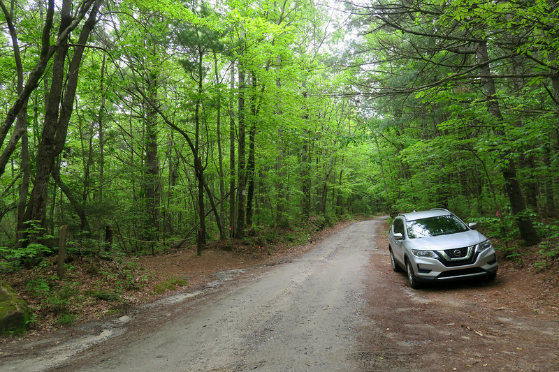 Pinnacle Mountain Road Trailhead (Turkey Knob Road) -- 3,030'
