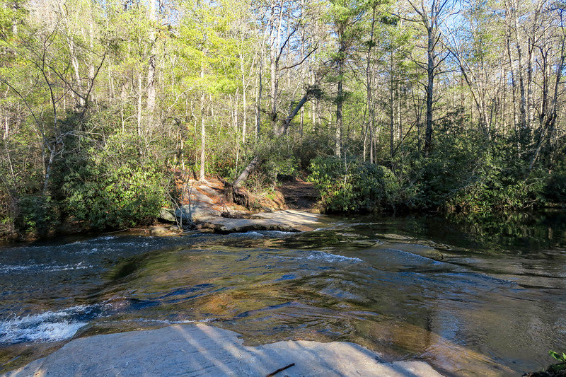 Corn Mill Shoals Trail @ Little River -- 2,660'