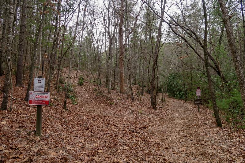 Wintergreen Falls Trail -- 2,530'