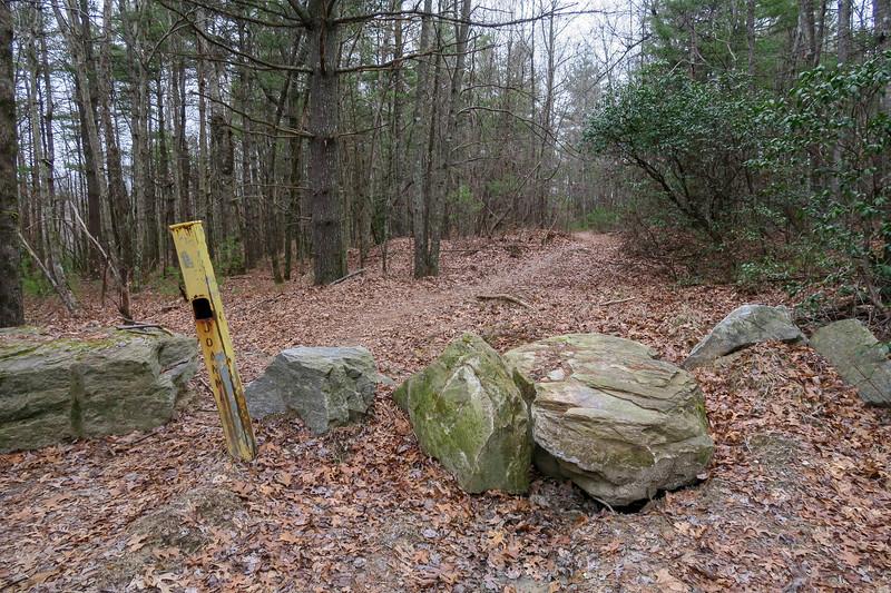 Joanna Road Trailhead (Pinnacle Mountain Road) -- 3,150'